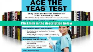 read online ace the teas test study guide and practice tests for
