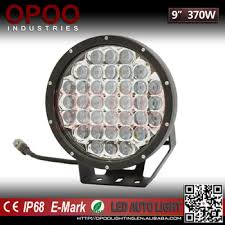 round led driving lights 2017 top new 4x4 offroad 9inch 370w 5d round led driving spot light