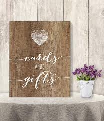 Wedding Gift Table Ideas Cards And Gifts Wedding Gift Table Sign Diy Presents Rustic