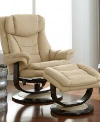 ren leather recliner with ottoman furniture macy u0027s