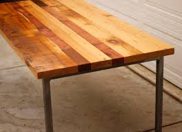 furniture home trendy reclaimed wood dining room table dinner