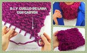 bufandas mis tejidos tejer en navidad manualidades navidenas bufanda diy aprende a tejer cuellos de lana con un cartón manualidades