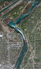 Niagara Falls State Park Map by Hiking Trails In And Around Niagara Falls