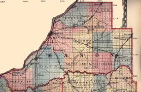 Illinois Map by Mason County Illinois Maps And Gazetteers