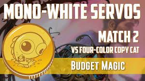 budget magic mono white servos vs four color copy cat match 2