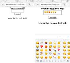 ios emoji keyboard for android how to translate ios emoji for android users