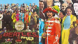 sargeant peppers album cover original cutout from beatles sgt pepper up for auction