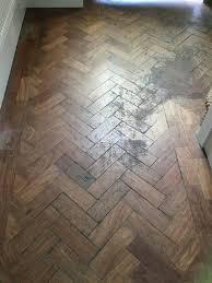 Waxing Laminate Wood Floors Sanding U0026 Waxing Of Herringbone Parquet Floor Chester Wood