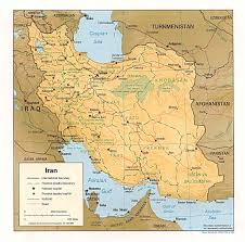 Unlv Map Nationmaster Maps Of Iran 29 In Total