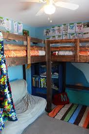 Two Bunk Beds L Shaped Loft Beds Timandmeg Net