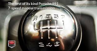 the first of its kind porsche 991 7 speed manual transmission