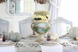 maison decor a rustic classical thanksgiving table