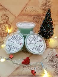 christmas tree fir and pine needles wax melt candle melt
