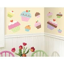 amazon com roommates rmk2037gm happi cupcake peel and stick giant amazon com roommates rmk2037gm happi cupcake peel and stick giant wall decals home improvement