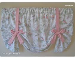 Toile Window Valances Toile Window Valance Elegant And Classy Tie Up Blue Window
