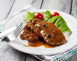 cuisine az com recette côtes de porc sauce au poivre facile rapide