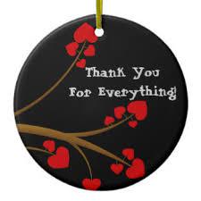 thank you notes ornaments keepsake ornaments zazzle