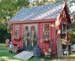 concentrate on the landscaping around your garden shed to anchor