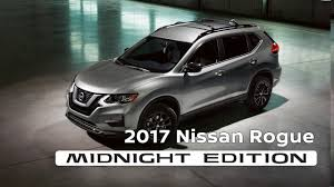 nissan murano 2017 red 2017 nissan rogue midnight edition youtube