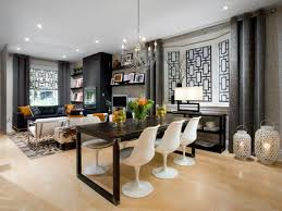 Impressive Living Room And Dining Room Decor Decorating A Small - Living dining room design ideas