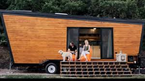 Modern Tiny Home by Contemporary Tiny House On Wheels U0026 Rustic Modern Tiny Home In
