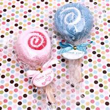 lollipop party favors lollipop towel favors wedding lollipops edible wedding favors