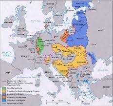 post ww1 map how did european boundaries change after war 1 quora