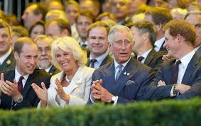 do prince william and prince harry get along with camilla