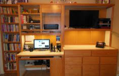 Office Desk Wall Unit Wall Unit With Drop Down Desk Home Office Furniture Images