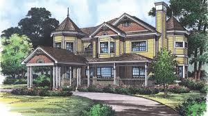 Queen Anne Style House Plans Home Plan Homepw13349 2683 Square Foot 4 Bedroom 2 Bathroom