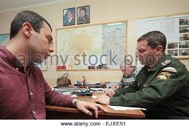 bureau de recrutement militaire moscou russie 2ème apr 2015 conscrits passer des tests médicaux à