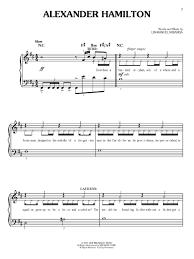 hamilton easy piano lin manuel miranda 9781495069888 amazon