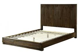 bed frame image of california king platform bed with drawers