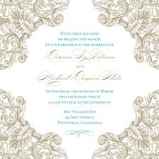 Wedding Invitation Card Design Template Marriage Invitation Card Format In Word Wedding Invitations