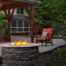 stone outdoor fireplace on screened porch archadeck outdoor living