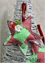 space saving christmas tree topper decoration with flannel simple