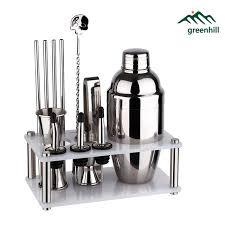 barware sets premium barware bar tool set 12 pieces bartender kit includes