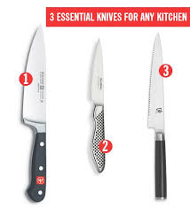 essential kitchen knives 3 essential knives for any kitchen knife dock in drawer knife