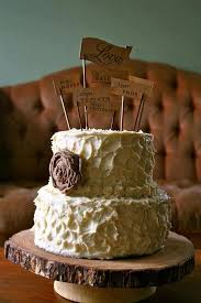 burlap cake toppers 35 best wed cake cupcake toppers images on wedding