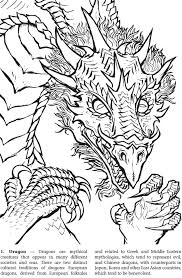 98 coloring pages dragons images