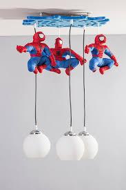 spiderman modern lights bedroom boys and girls ceiling pendant