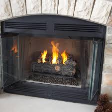 home decor convert wood fireplace to gas home interior design
