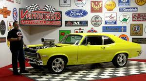 Chevy Muscle Cars - 1971 chevy nova blower motor classic muscle car for sale in mi