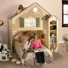 girls dollhouse bed dollhouse loft bed themed beds by tanglewood design