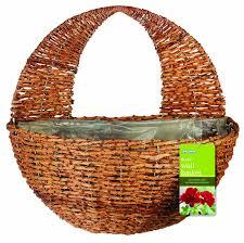 gardman 02041 wall basket multi colour 30 cm co uk