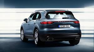 leaked welcome the 2018 porsche cayenne