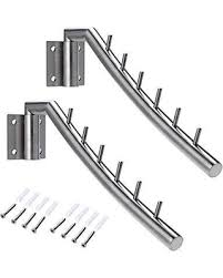 slash prices on sumnacon 12 6 wall mounted clothes hanger rack 2