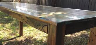 how to make a rustic kitchen table how to build a rustic timber table construction repair