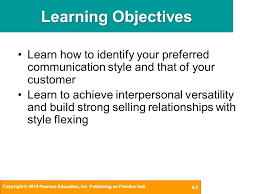 chapter 4 communication styles a key to adaptive selling today