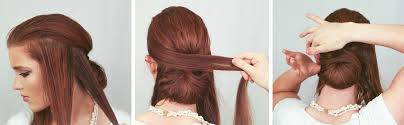 how to wrap wedding hair the freckled fox wedding hair week wrapped chignon by emily meyers